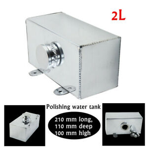 2L Multi-function Aluminum Alloy Polishing Water Tank For General Purpose Models