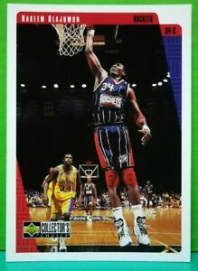 Hakeem Olajuwon regular card 1997-98 Upper Deck Collector's Choice #252