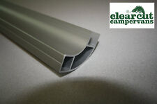 500mm VW T5 Campervan/Motorhome Kitchen Furniture Shelf Profile Silver Aluminium