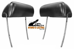 NEW 1968-1972 Chevrolet Chevelle & Malibu Bucket Seat Headrest - Pair