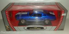 1:18 Scale Road Legends 1968 Shelby GT-500KR - Candy Blue with White Stripes