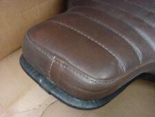 NOS Harley FL,FLH Vintage Dresser Comfort Flex BROWN Seat 1970's  MOUNT 52533-78