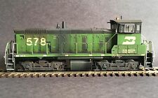 SUPERDETAILED-WEATHERED ATHEARN HO RTR SW1000 BURLINGTON NORTHERN DCC EQUIPPED