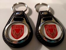 TRANS AM GTA KEYCHAINS 2 PACK CLASSIC MUSCLE CAR FOB LOGO RED
