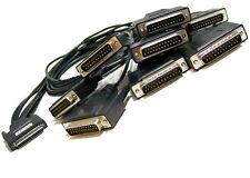 IBM Equinox 690372 DB25-M 8-Port Fanout Cable 40T5168 Avocent 8x25-pin Black Cab