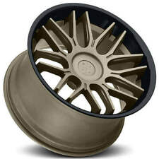 4 20 Blaque Diamond Wheels Bd 27 Matte Bronze With Gloss Black Lip Rims B7 Fits 2012 Jeep Grand Cherokee