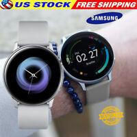 Samsung Galaxy Active 2 Smartwatch 40mm Cloud Silver SM-R830NZSCXAR Bundle