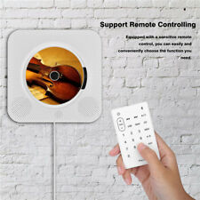 Wall Mounted Bluetooth CD MP3 Music Player Remote FM Radio For Phones AU Plug