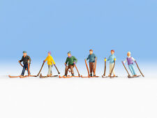 Noch - 36828 Modélisme Ferroviaire Figurine Skieurs