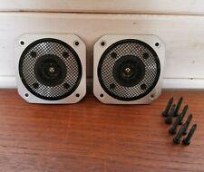 Yamaha JA0596 Stereo Speaker Tweeters - Tested & Working Custom Build HiFi Parts