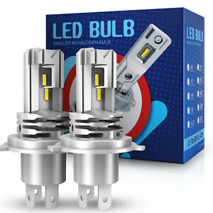 Upgrade H4 9003 HB2 LED Headlight Kit Hi/Lo Beam Bulb Globe 6500K White 270000LM