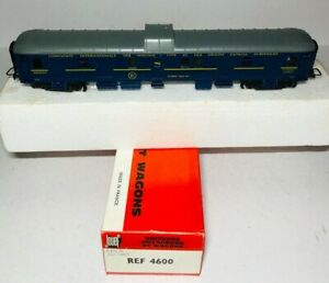 Jouef 4600 Fourgon A Bagages C.I.W.L. Luggage Baggage Wagon HO Gauge (48)
