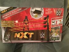 WWE NXT Authentic Elite Scale Ring Real Scale playset wicked cool toys mattel