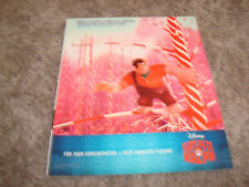 WRECK-IT, RALPH Oscar ad in Candyland & PARANORMAN & SECRET OF THE WINGS Disney