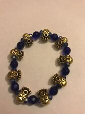 Blue Ghost Men's Punk Fashion Jewelry Bracelet