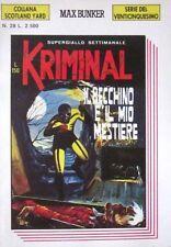 """KRIMINALSerie del 25°/Coll.Scotland Yard """"IL BECCHINO E'.."""" N.28 ANNO III 7/1991"""