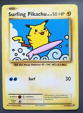 Pokemon card Surfing Pikachu 111/108 Basic RARE Lightning Mint Evolutions