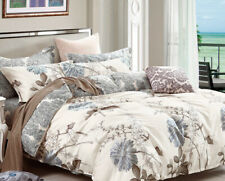 Daisy Silhouette 100% cotton bedding set: 2pc/3pc/5pc duvet cover set all sizes