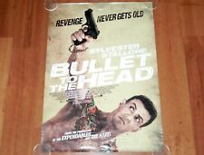 ORIGINAL MOVIE POSTER BULLET TO THE HEAD 2012 UNFOLDED INTL ONE-SHEET STALLLONE
