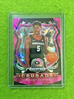 ANTHONY EDWARDS PINK ICE PRIZM ROOKIE CARD RC CRUSADE 2020 Prizm DP TIMBERWOLVES