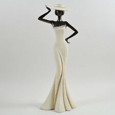 Elegant Lady Figurine Art Deco Sculpture Beautiful Artistic Statue Gift 41203