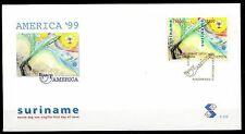 Suriname - 1999 UPAEP - Mi. 1707-08 clean unaddressed FDC