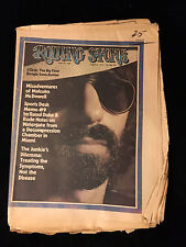 VINTAGE J.GEILS ROLLING STONE MAGAZINE-MALCOLM MCDOWELL-1973