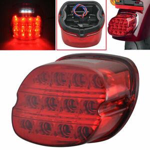 Motorcycle LED Tail Brake Light License Lamp For Harley Davidson Sportster Dyna