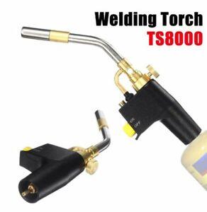 High Intensity Trigger Propane Start Torch Brass Mapp Gas Torch For TS8000 TC
