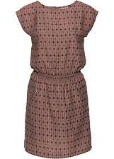 Kleid Gr. 42 Rosa Schwarz Damenkleid Sommerkleid Mini Freizeitkleid Neu`