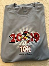 run disney 2019 10k Minnie Mouse running t-shirt adult large male champion new