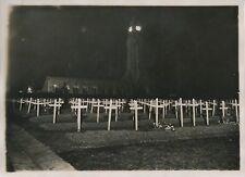 DOUAUMONT c. 1930 - Inauguration du Phare Tombes Vue de Nuit Meuse - PRM 636