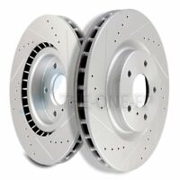 Curve Slot INF005S 350Z G35 w// Brembo System Performance Brake Rotors Drill