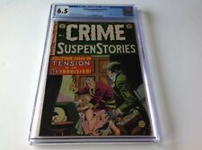 CRIME SUSPENSTORIES 14 CGC 6.5 EC COMICS PRE CODE HORROR WIFE KILLER CRAIG KAMEN