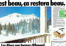 Publicité Advertising 037    Jacques Ribourel (2p)  appartements à la Norma