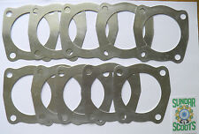 PACK OF 10 150 cc CYLINDER HEAD GASKETS. FOR GP,LI,SX AND TV LAMBRETTA SCOOTERS