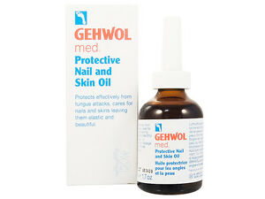 Gehwol med Protective Nail and Skin Oil 50ml - Restores Brittle & Fragile Nail