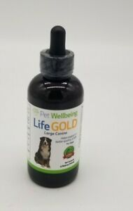 Pet Wellbeing Life GOLD For Large Dogs Immune System & Antioxidant 4 fl oz 11/24