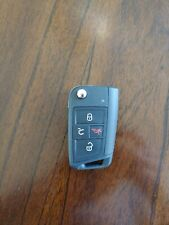 Genuine OEM GTI VW Remote Flip Key Keyless Entry Fob 4 Button Black 5G6959752AC