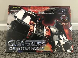 Gigapower Graviter HQ-04R Chrome 🇺🇸 Transformers Masterpiece Scale Sludge