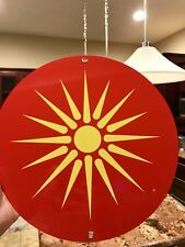 Ancient Macedonia Alexander The Great Symbol Flag Metal Sign 00004000