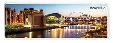 Panoramic Fridge Magnet, Newcastle-upon-Tyne, Newcastle Gateshead Quayside NE13