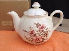 Dream Rose Tea Pot - Made in Japan - Lots of Crazing - Original Box