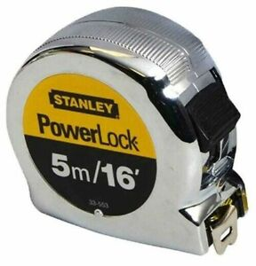 Measuring Tape Stanley 033553 Micro Powerlock Tape, 5m