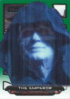 2018 Topps Star Wars Galactic Files Green Parallel ESB-18 The Emperor 070/199