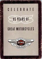 Harley-Davidson95Years motorcy SingleSwapPlayingCard - 8, Eight of Clubs 1 Card