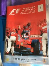 F1 Program 1999 Totally Signed Rare