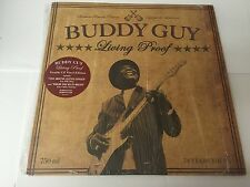 Buddy Guy Living Proof LP + LP Single Sided, Etched  2010 886977810718 MINT/MINT