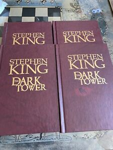Stephen King Marvel Hard Back Books The Dark Tower Set Of Four