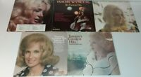 Tammy Wynette Lot Of 5 LP Vinyl Record Albums Greatest 1 2 You And Me Demo More